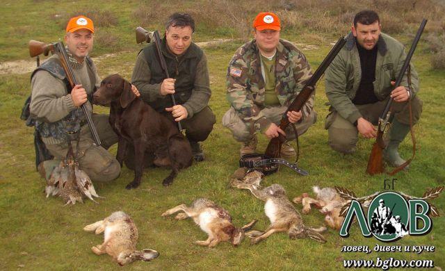 Лов на заек в Мало Конаре при Асен Спасов
