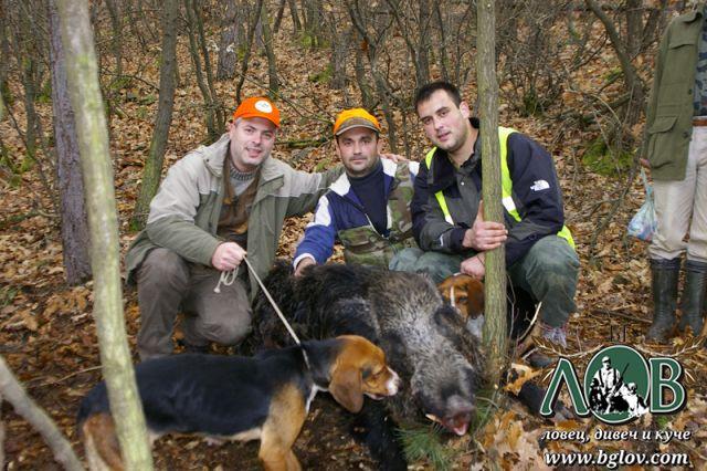 Лов на диво прасе в Момчилград при spartak888