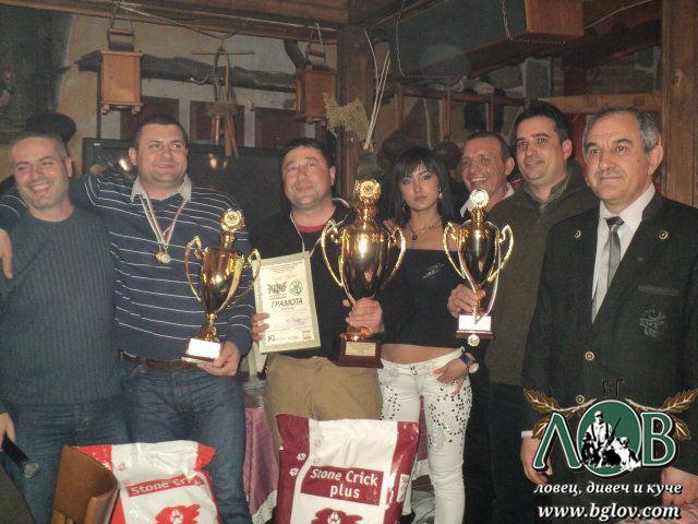 Шампионите Сашо Райчев, Данислав Николов и Истилиян Маринков