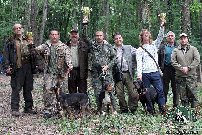 Състезание за ловни кучета в гатер - ЛРС БЯЛА 2016