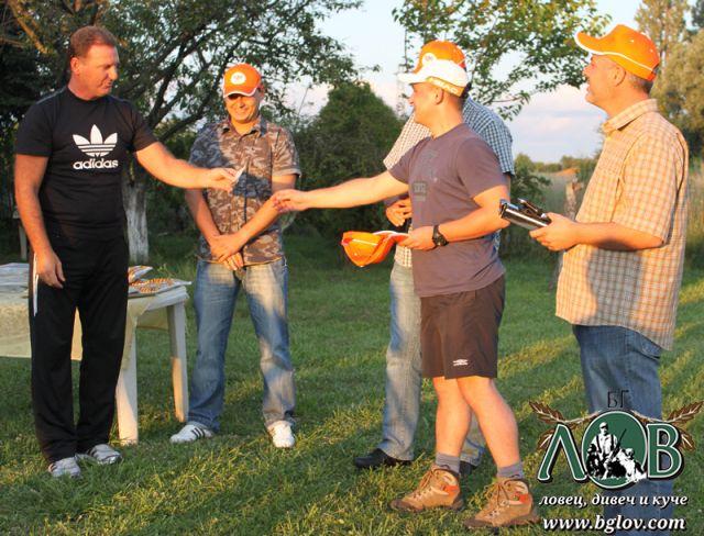 Кирил Атанасов спечели свирка за хищници от томболата на OutdoorActiveBG.com