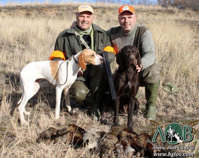 Лов на фазан в ЛД Черногорово