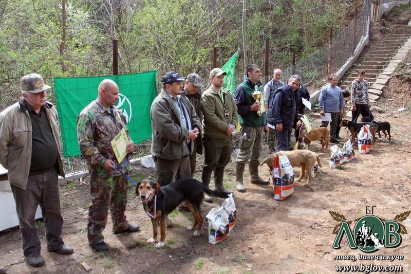 Финален турнир за гончета за купата на НЛРС-СЛРБ 2012