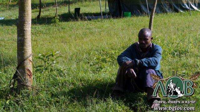 Бракониер в Уганда