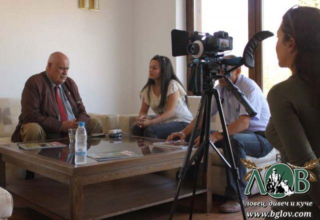Интервю на Бернар Лозе пред БГ ЛОВ и Уикенд ТВ